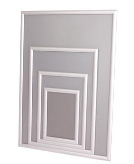 cadres clapets syst me clic clac et cadres d 39 affichage alu anodis et couleurs. Black Bedroom Furniture Sets. Home Design Ideas