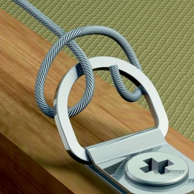 Accessoires de pose suspensions entretoises tiges inox - Systeme de fixation pour cadres et tableaux ...