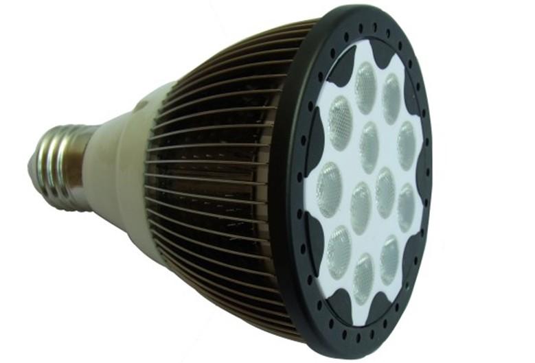 lampe PAR culot E27 12X1W 1160lum 38°